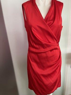 Wickel Kleid von Mango Gr 38 M in Satin Look