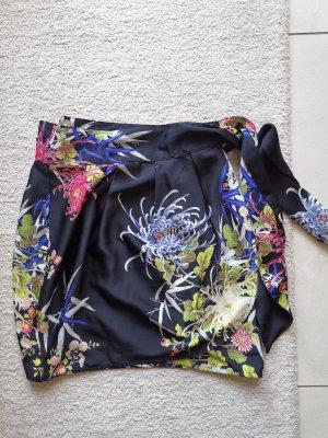 Zara Basic Wraparound Skirt multicolored
