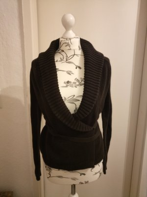 esprit collection Knitted Wrap Cardigan multicolored cotton