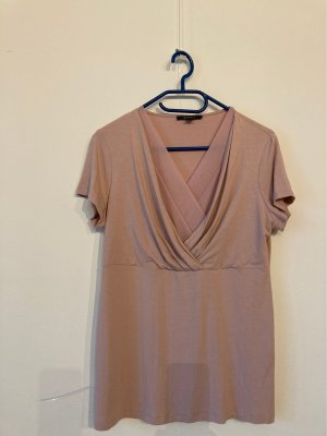 Esprit Wraparound Shirt rose-gold-coloured