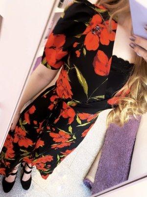 Kopertowa sukienka Wielokolorowy