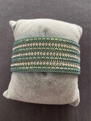 Bracelet light blue-turquoise