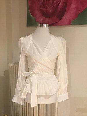 Kopertowa bluzka biały