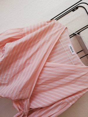 Edited Blouse portefeuille abricot