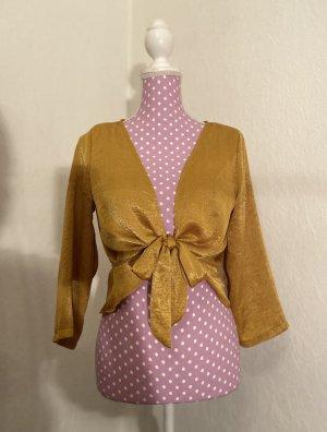 Pretty Little Things Kopertowa bluzka złoto-złotopomarańczowy