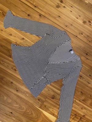 Devided von H&M Blusa cruzada negro-blanco