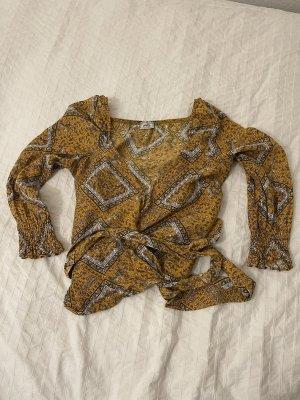 Pimkie Kimono Blouse gold orange