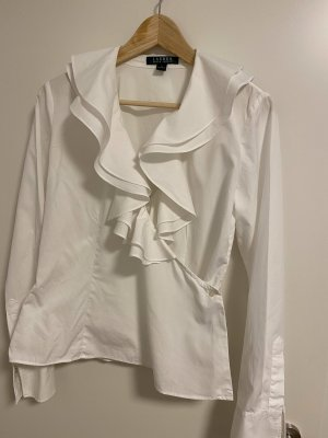 Lauren by Ralph Lauren Wraparound Blouse white