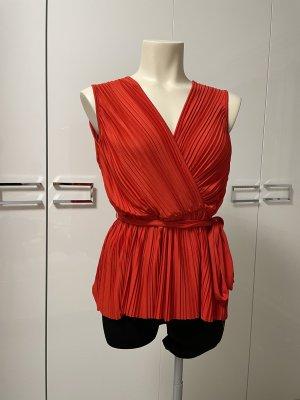H&M Wikkelblouse rood
