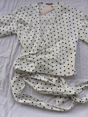 Orsay Kopertowa bluzka biały-czarny