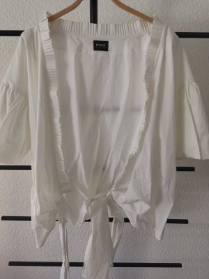 Minx Wraparound Blouse white