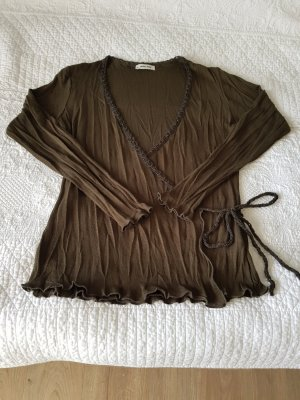 More & More Kopertowa bluzka khaki