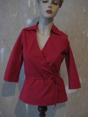 Vero Moda Camicetta aderente rosso mattone Cotone