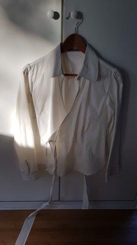 Zero Kopertowa bluzka biały Bawełna