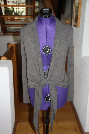 Maglietta aderente talpa-marrone-grigio Tessuto misto