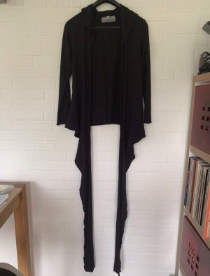 Private Label Wraparound Jacket black viscose