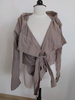 Absolut by Zebra Kopertowa kurtka szaro-brązowy