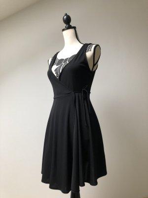 Bershka Wraparound black polyester
