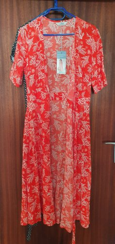 women essentials by Tchibo Robe portefeuille blanc-rouge clair
