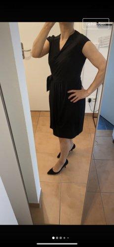 Esprit Vestido cruzado negro