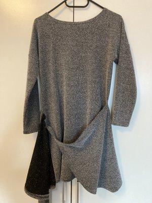 Robe portefeuille gris clair