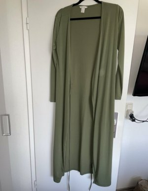 H&M Robe portefeuille gris vert