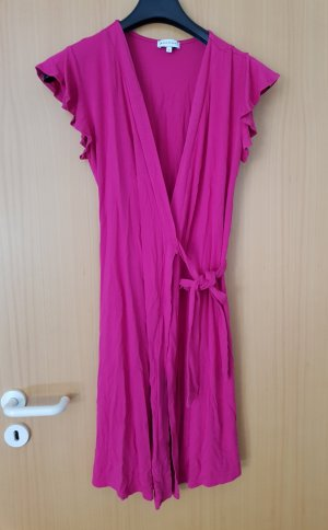 Warehouse Robe portefeuille rose
