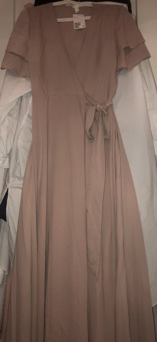 H&M Robe portefeuille vieux rose
