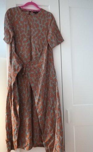COS Kopertowa sukienka Wielokolorowy