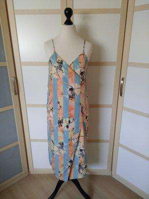ASOS DESIGN Wraparound multicolored polyester