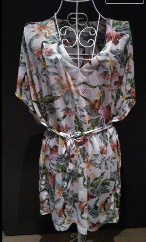 Wickelkleid Blumen h&m Gr. 36 kurzes Kleid