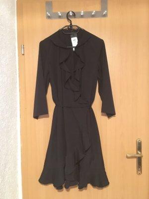 Vero Moda Kopertowa sukienka czarny
