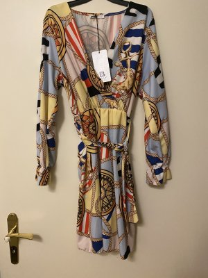 Made in Italy Robe portefeuille multicolore