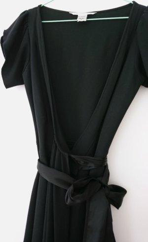 Diane von Furstenberg Wikkeljurk zwart Wol