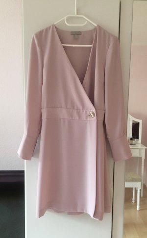 H&M Robe portefeuille vieux rose-rose clair