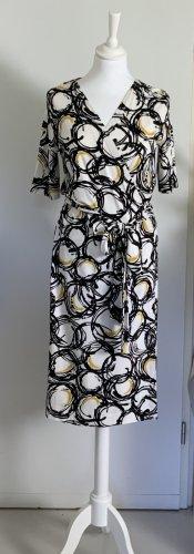 Kopertowa sukienka Wielokolorowy Wiskoza