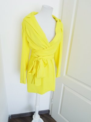 Boohoo Wraparound yellow