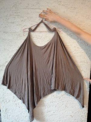 Robe portefeuille chameau