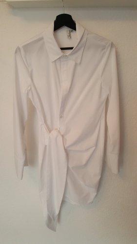 NYL Trend Blouse portefeuille blanc-blanc cassé coton