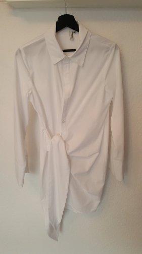 NLY Trend Vestido tipo blusón blanco-blanco puro Algodón
