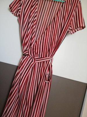 Mango Kopertowa sukienka Wielokolorowy