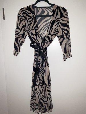 aus Italien Kopertowa sukienka Wielokolorowy