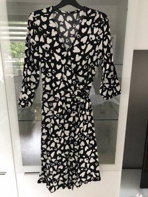 Street One Robe portefeuille noir-blanc