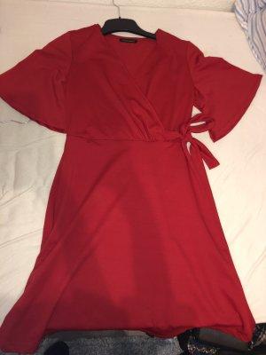 Wickelkleid Rot