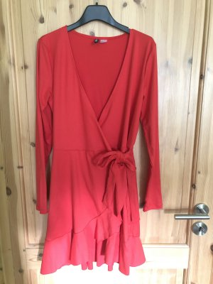 H&M Divided Robe portefeuille rouge