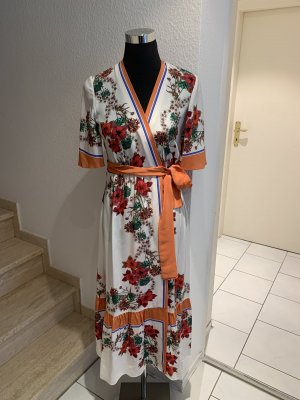 Sandro Paris Robe portefeuille multicolore
