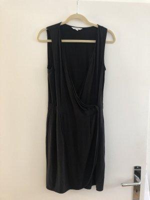 Wickelkleid schwarz & other stories S 38 wrap dress