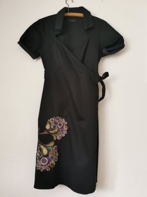St-martins Robe à manches courtes noir