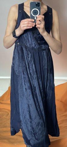 Wickelkleid von Diesel - blau/lila - glänzend