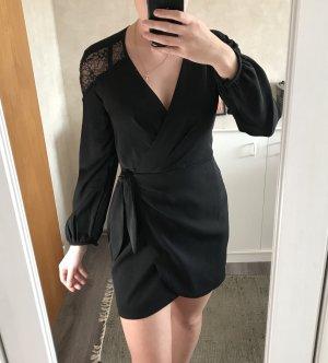 Mango Suit Wraparound black